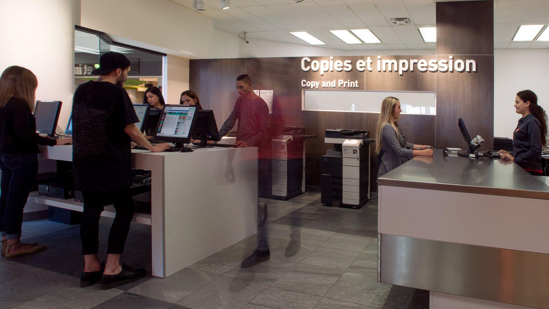 Service De Copies Et D Impression College Lasalle Montreal Six Ecoles Et Plus De 60 Programmes
